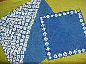 藍染めスカーフ