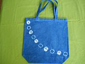 藍染めトートバッグ(大)