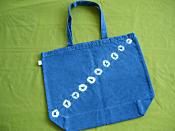 藍染めトートバッグ